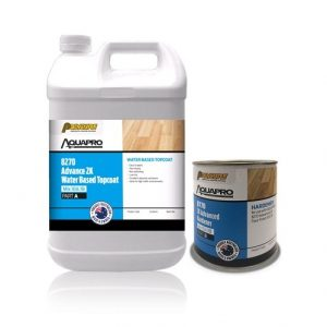 AQUAPRO 8270 Advance 2K Water Based Topcoat & Part B 8770